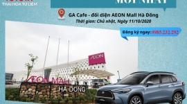 LÁI THỬ XE TOYOTA MỚI NHẤT TẠI AEON MALL HÀ ĐÔNG 11/10/2020
