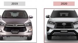 So sánh Toyota Innova 2019 và Innova 2020